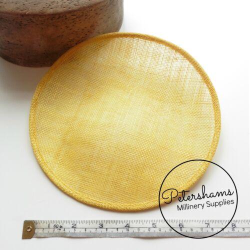 Cuchara redondeadas 21 cm endurecidas Fascinator de la base para sombreros Sombrero