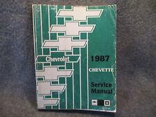 1987 Chevrolet Chevette Service Shop Repair Manual ST-357-87 Guide Book W675
