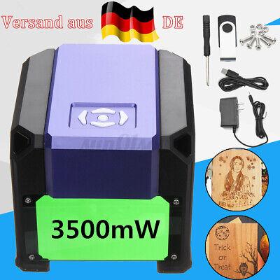 3500MW USB Lasergravur Graviermaschine DIY Holzschneider Logo Drucker Für OS Win