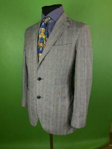 Mens Brook Taverner Charcoal Grey Blazer Suit Jacket Size 52 Regular