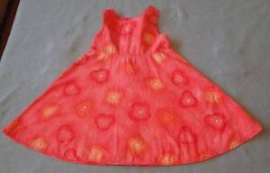 Details about Morese Gorgeous Little Girls Hot Pink Summer Dress, Size 2
