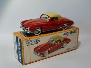 Mercedes-benz-190-sl-at-1-43-norev-design-like-dinky-toys-solido-cij