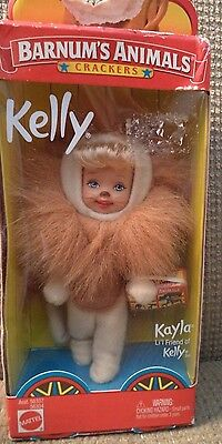 BARNUM/'S ANIMAL CRACKERS LION  # 56334   NRFB Barbie ~ KELLY Kelly
