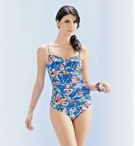 Seaspray-039-Capri-039-Sweet-heart-Draped-One-piece-Swimwear-Medium-tummy-control-10