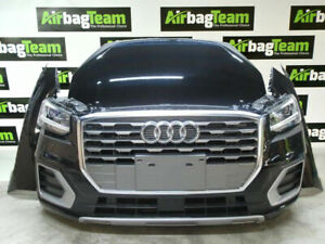Audi-Q2-2018-1-0-TSI-Complete-Front-End-Bonnet-Bumper-Headlights-Wings-Rad-Pack