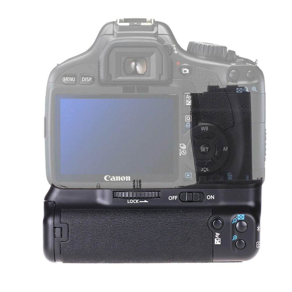 5140f4dd277e27 Details about Battery Grip For Canon EOS T2i T3i T4i 550D 600D 650D 700D as  BG-E8 BGE8 DSLR