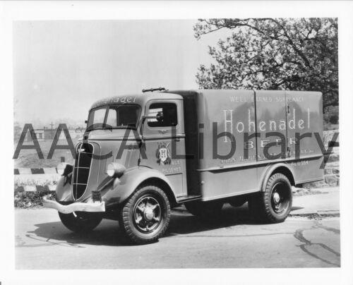 Hohenadel Ref. #77921 Factory Photo 1936 Studebaker 2M625 COE Van Truck