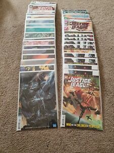 Justice-League-1-39-Drowned-Earth-Scott-Snyder-Complete-Run-Set-Jim-Lee-Varian