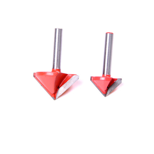 90 Degree 3D Making Router CNC Engraving V Groove Bits End Mill 6mm x 22mm/_HFUK