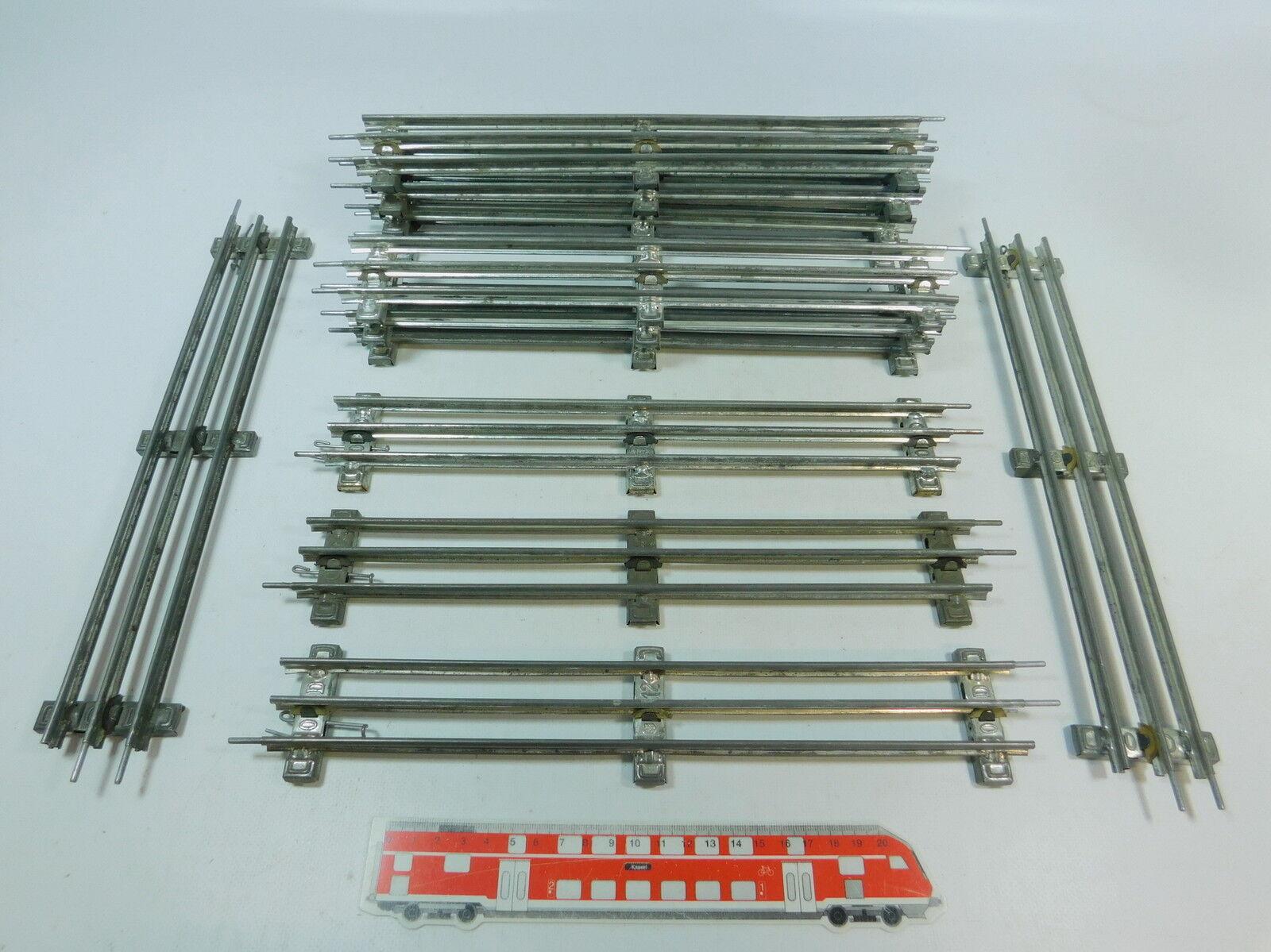 AV312 12x marklinMarklin Scala 0 Pezzo Pista 32 cm per Elettrica Utilizzo