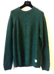 verde Pepe girocollo con verde in in uomo Maglione collo maglina Jeans da maglia 4nr4YSq