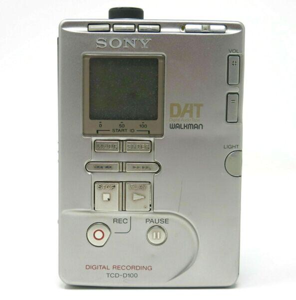 2019 Nieuwe Stijl Sony Tcd-d100 Dat Walkman Digital Recording Audio Tape Recorder Grondstoffen Zijn Zonder Beperking Beschikbaar