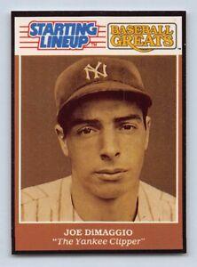 """NEW YORK YANKEES /""""Baseball Greats/"""" Starting Lineup Card 1989  BABE RUTH"""