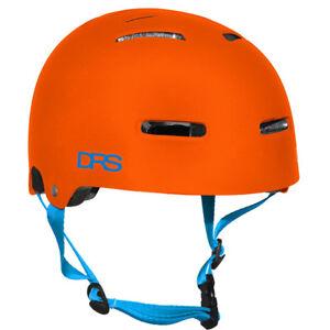 DRS-BMX-Bike-Skate-Helmet-DRS-Flat-Orange-L-XL-58-62cm