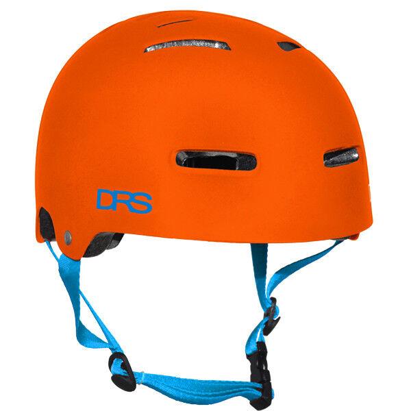 DRS BMX Bike / Skate Helmet-DRS Flat Orange-L/XL 58-62cm