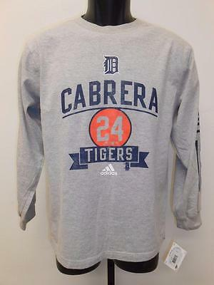 Baseball & Softball Sport FleißIg New-mended Miguel Cabrera #24 Tigers Jugendliche M 10/12 Adidas Shirt
