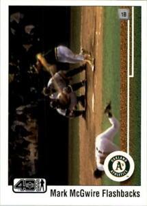 2002 (ATHLETICS) Upper Deck 40-Man Mark McGwire Flashbacks #MM3 Mark McGwire A's