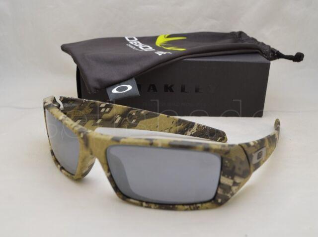 Oakley SI Gascan Sunglasses 901412 Desolve Bare Camo Frame W BLK Iridium Lens