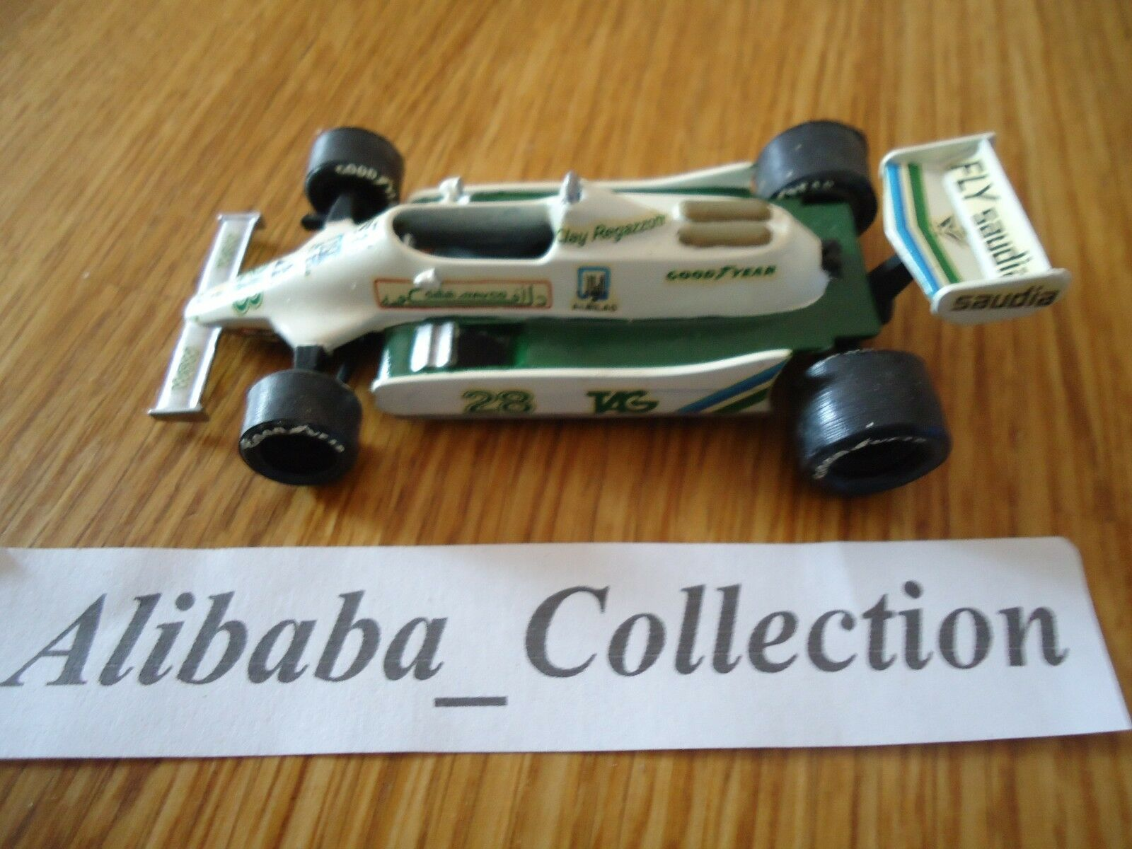 TENARIV WILLIAMS FW07 28 CLAY REGAZZONI 1979 1/43 SAUDIA  F1 Formule 1 KIT