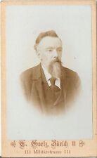 CDV photo Herrenportrait - Zürich 1890er