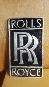Rolls Royce  Aluminium Metal Sign Wall Plaque/ Garage Workshop /Man Cave