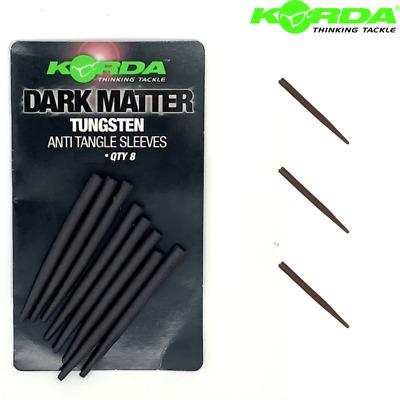 Korda Dark Matter Tungsten Anti Tangle Sleeves Long