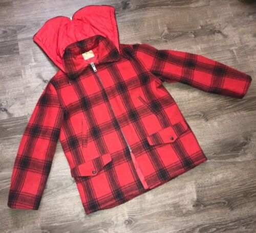 Vintage Men's Hunting Penny's Foremost wool plaid