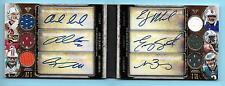 2013 Topps Triple Threads Luck/Griffin/Tanneyhill/Manuel/Smith RC Autograph /27