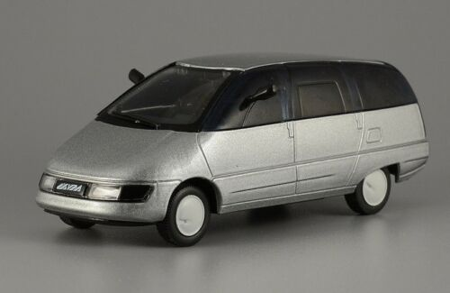 1:43 Scale NAMI OHTA Experimental Soviet Minivan Gray & Black USSR Prototype Car