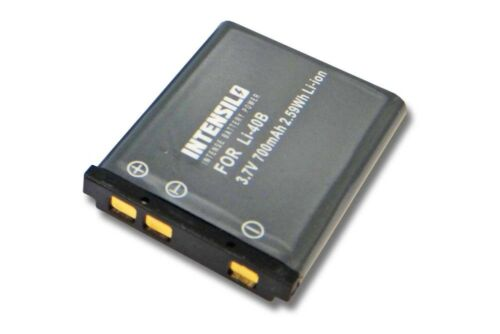 ORIGINALE intensilo ® BATTERIA 700mah per Kodak Easyshare m530//m550//m565//m575