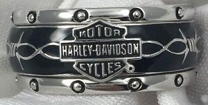 Franklin-Mint-Harley-Davidson-Rumble-Roll-Sterling-Silver-Ring-Size-12-Mens-84v6
