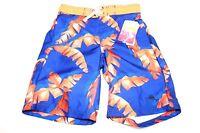 Tommy Bahama Relax St16e244-dl Swim Shorts Blue/orange Boys Size 6 $34