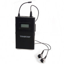 US 1pcs Takstar WPM-200 Professional Wireless Monitor In-Ear Stereo Receiver