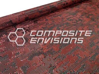 Camouflage Fibre de Carbone//Tan Aramide Hybrid 3k//1500d 127 cm x 91 cm 203gsm
