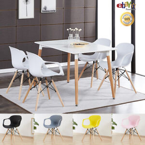 4-x-Alecia-Tub-Eiffel-Armchair-and-White-Dining-Table-Set-Cafe-Restaurant-Salon