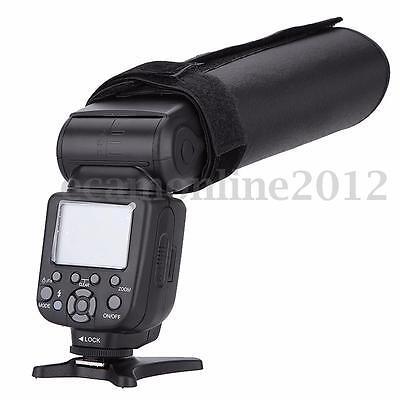 New Foldable Camera Speedlight Reflector Snoot Flash Beam Cloth Softbox Diffuser
