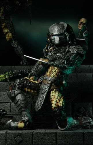 "NEW AUTHENTIC NECA AVP CHOPPER PREDATOR SERIES 14-7/"" ACTION FIGURE"