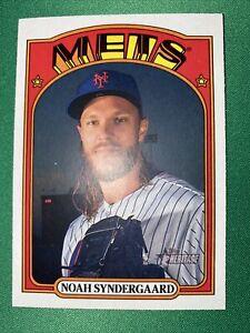 2021 Heritage Base #290 Noah Syndergaard - New York Mets