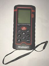 Stalwart Laser Distance Measuring Tool 40m Range Hand Held Backlight Display