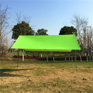 Portable-Waterproof-Camping-Tent-Tarp-Sunshade-Shelter-Canopy-Hammock-Cover-Gear