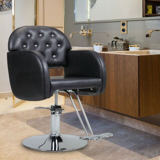 Adjustable Hydraulic Recline Barber Chair Hair Styling Salon Beauty Equipment For Sale Online Ebay