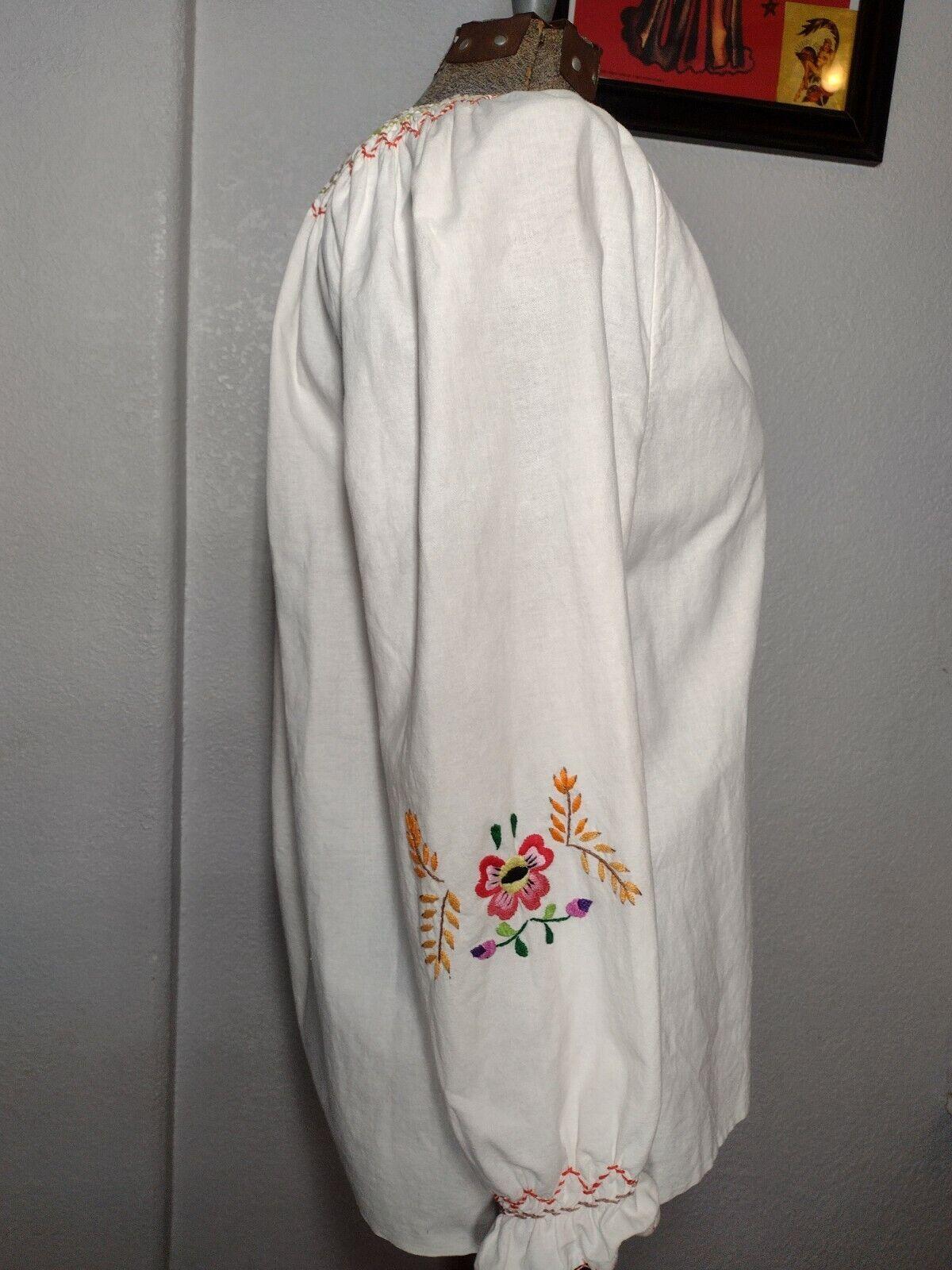 vintage hungarian blouse - image 6