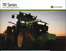 """John Deere """"7R Series"""" Tractor Brochure Leaflet"""