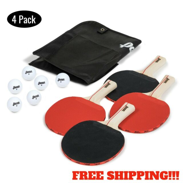 NEW Franklin Sports 4 Player Paddle Set FREE SHIPPING