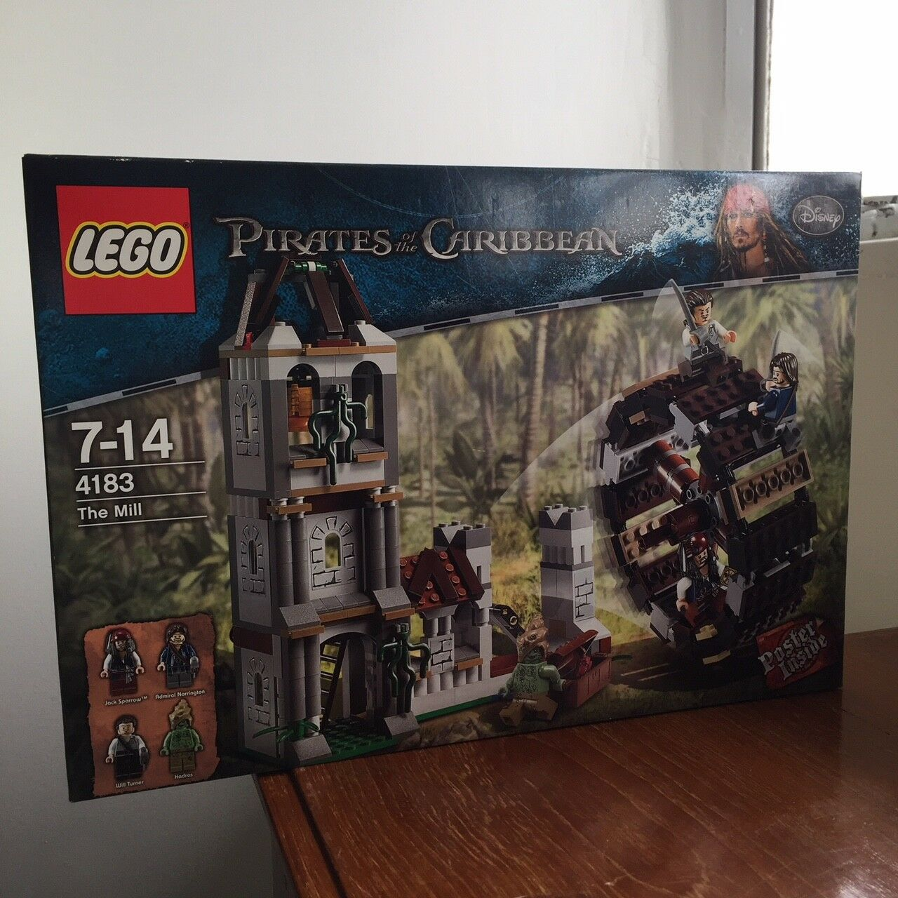 NEW LEGO Pirates of the Caribbean 4183 The Mill SEALED 2011