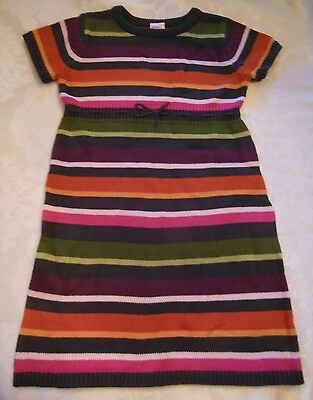 Gymboree FALL FOREST FRIENDS Striped Sweater Dress NWT 6 7 8