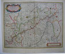 Erzbistum Köln altkolor Orig Kupferstichkarte Blaeu 1662 Nordrhein Westfalen