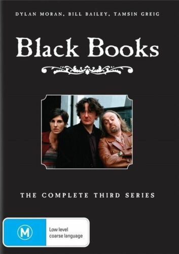 1 of 1 - Black Books Series 3 - DVD Region 4 Good Condition