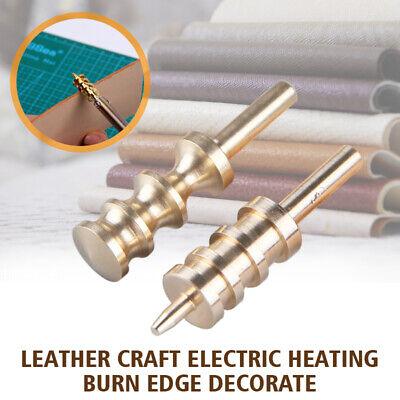 Leather Craft Soldering Iron Tip Edge Decoration DIY Brass Tool Solder Gold