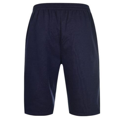 Slazenger Herren Fleece Shorts Sporthose Kurze Hose S M L XL 2XL 3XL 4XL neu